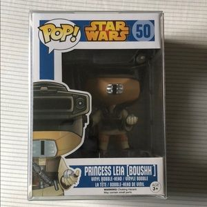 Princess Leia (Boushh) Pop! With protector